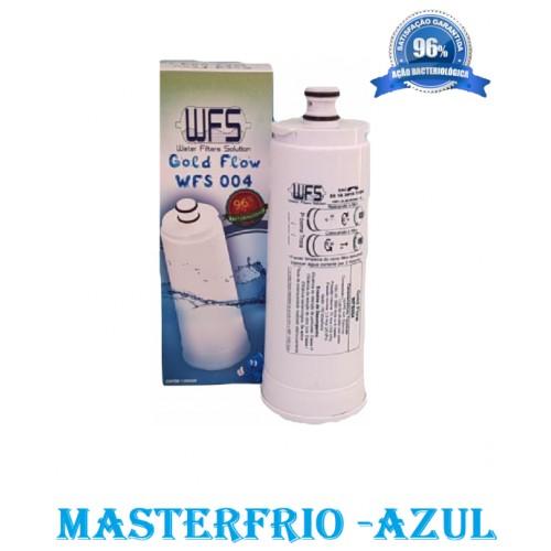 FILTRO DE AGUA REFIL PURIFICADOR MASTERFRIO PB700 CP500 ROTULO AZUL
